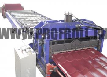 Линия металлочерепицы, Оборудование по производству металлочерепицы, Стан по изг