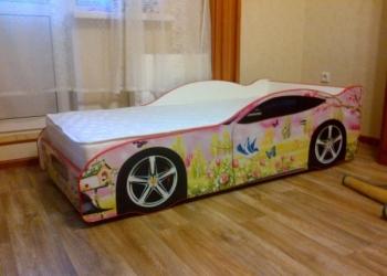 Детская мебель кроватки машинки