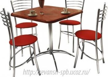 Мебель для кафе, бистро и ресторанов от производителя.