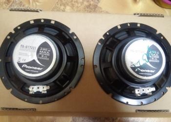 продам автомобильную акустику pioneer ts-g1722i