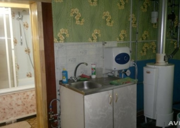 1 комнатная квартира с участком