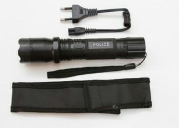 Фонарь Электрошокер police 1101