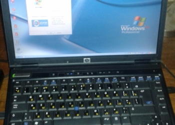 Ноутбук HP NC6400 + докстанция