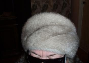 продаем новую шапочку из голубой норки