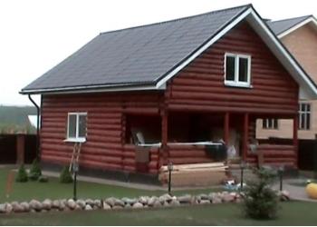 Срубы домов, бань из Вологодского леса