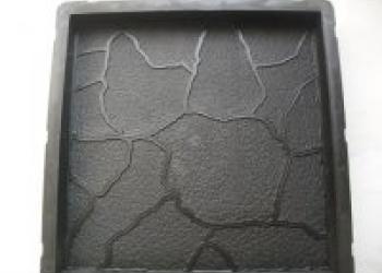 формы для изготовления тротуарной плитки 30х30х3см тучка
