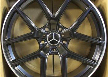 Новые диски R21 AMG для Мерседес Геленваген