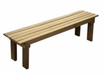 Скамья вечная 150 х 42 х 35 см (на заказ)