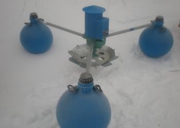 Аэратор для водоемов 0.9 кВт 1.26 кгО2/час