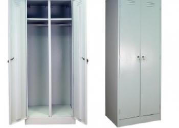 Металлическая мебель (шкафы для одежды, архивные шкафы, верстаки, сейфы)