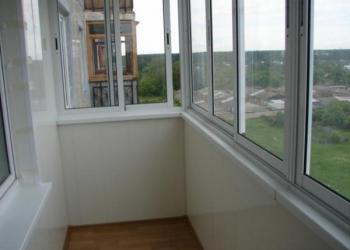 Балконы, окна и двери