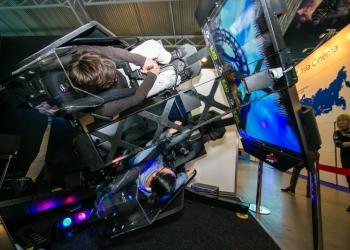7Dаттракцион виртуальной реальности EXO GET