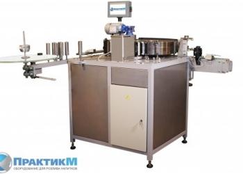 Этикетировочный автомат на полипропиленовую этикетку