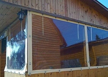 Мягкое окно - альтернатива обычному остеклению.