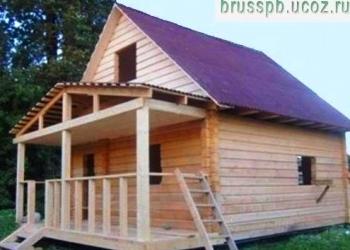 Дом из бруса размером 6м*6м+2м(веранда)