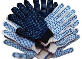 Рабочие перчатки хб 10-й кл. с пвх