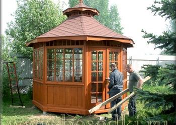 Беседки садовые деревянные строительство и профессиональный дизайн