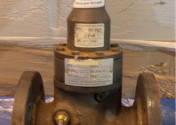 Предохранительно-запорный клапан Ду50 Ру25 для суг