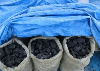 Уголь каменный ДПКО фр. 50-200 в мешках