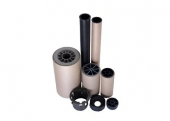 Пластиковые пробки-заглушки для картонных втулок,гильз,шпуль