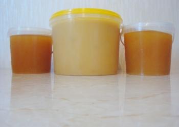 Липовый и цветочный натуральный мёд