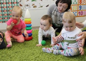 Развивающие занятия для детей 1-4 лет