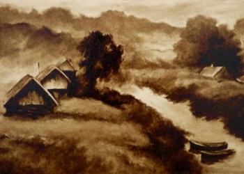Картины нефтью на холсте на заказ