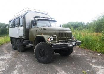 Продажа вахтовых автомобилей на базе ЗИЛ-131, КАМАЗ, КРАЗ