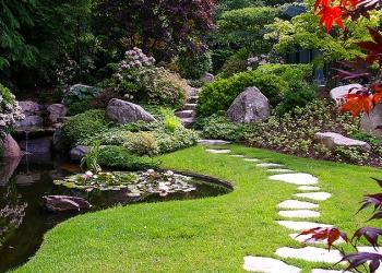 Ландшафтный дизайн. Озеленение. Благоустройство.