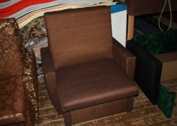 """Мягкое кресло 70 см """"Коричневое однотонное"""""""