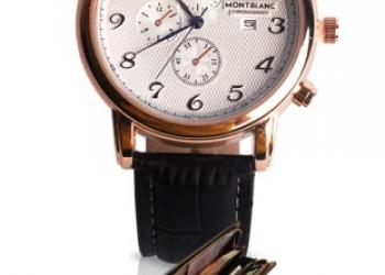 Комплект часы Montblanc + клатч