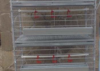 Клетка для кур: Несушек — Бройлера — Перепелов — Индейки»OLGERA»