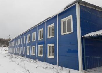 Модульное здание, бытовка, общежитие для рабочих