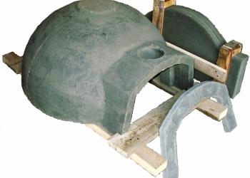 Помпейская дровяная печь