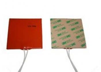 Нагреватель силиконовый 130х150 (Липкий слой)