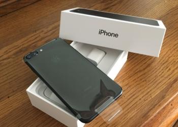 iPhone7 даже пленку не снимала!