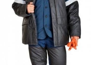 Костюм зимний БАРРЕЛЬ ПЛЮС из антистатической ткани для защиты от нефтепродукто