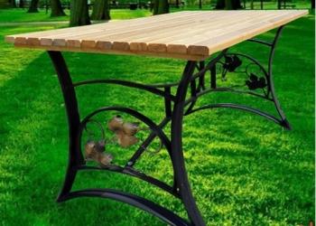 Стол садовый (дачный) кованый СтЛ