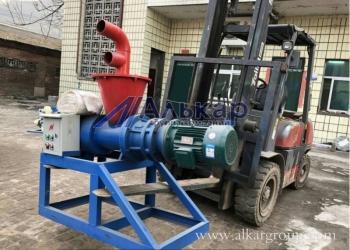 Шнековый сепаратор SEPRA для уменьшения влажности органического сырья