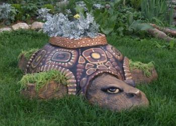 Черепаха - крышка на люк