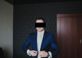 Классический Итальянский костюм темно-синий. ALBIONE