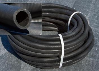 Шланг поливочный резиновый с кордом (нить) ф16, бухта 50м, новый