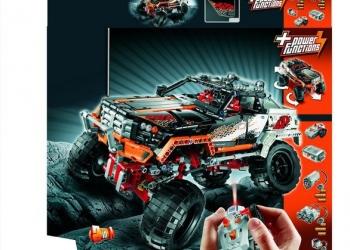 Lego technic 9398 Внедорожник 4х4 на радиоуправлении