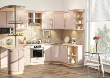 Современные модульные кухонные гарнитуры от производителя в Москве