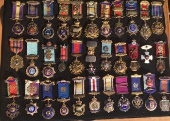 Масонские Награды, Ордена Знаки Серебро