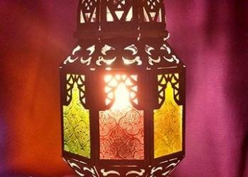 Настольная лампа МАРОККО в восточном стиле