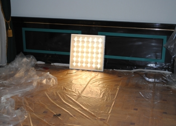 Светодиодные светильники для внутреннего освещения складского комплекса