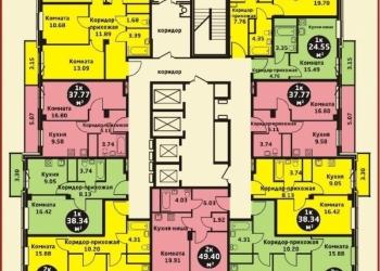 Продам 1-комн. долевое ж/к Уютный дом на Калинина