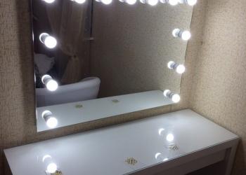 Зеркало для макияжа с лампами