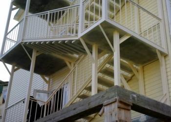 Лестница металлическая маршевая,наружняя и внутренняя- изготовление